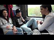 thumb Foursome Sex In  Public Train