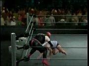 carol kicks and stomps b-boy like.
