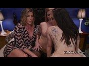 Brunette Milf anal fucks two lesbians Thumbnail