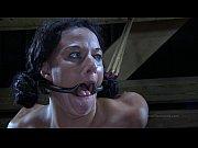 thumb strappado claustrophobia and orgasm predicament for captive girl