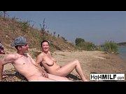 thumb milf with natural tits fucks