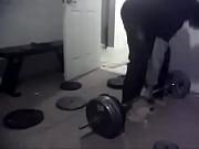 razA one hand deadlift 215 lbs razA Louis tito brooke