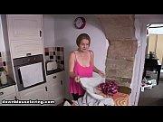 down blouse british babe laura the maid boobs.