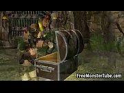 Sexy 3D cartoon Lara Croft toying her wet pussyuinsOfAzeroth EpisodeIV-high 1