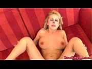 Masturbating blonde euro babe pussyfucks bbc Thumbnail