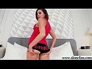 Real Alone Girl (zoey foxx) Play With Sex Dildos Till Orgasm clip-30