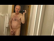 pervert grandpa ulf larsen pee and wank in.