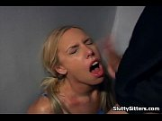 Blonde babysitter gets pounded at work