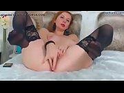 beautiful redhead masturbating on cam