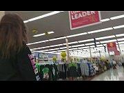 MILF Public Nudity at The Walmart - Big Titties and Masturbation