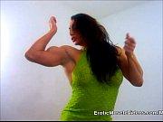 thumb big titties and massive muscles bulging out of mini dress