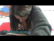Real amateur chick shows her lapdance skills