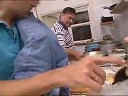 anal en la cocina