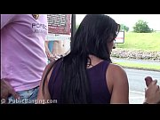thumb pretty girl with big tits public highway gangbang threesome