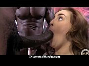 Cheating slut wife fucks and sucks big black cock swallows 22