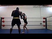 Interracial Boxing Spar