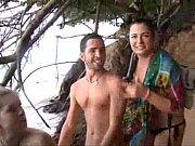 Γαμήσι στην παραλία και συνέχεια στο πλοίο (18 min)