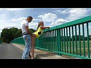 xhamster.com 4750049 flashing on a bridge and fucking.