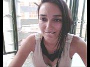 tattooed exhibitionist masturbating on her balcony