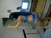 amateur arabe de danse priv&eacute_e sexy.