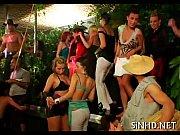 Sex ved fest sex med store piger