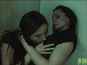 Two horny lesbian teen get frisky