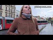 Eurobabe Zuzana banged with stranger for some money