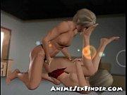 3D Lesbian Cums!