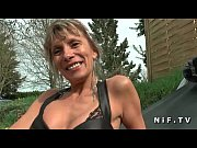big boobed french cougar hard anal fucked by.