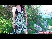 Kinky Milf Shanda Fay Masturbates Out by the Lake!