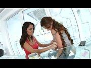 sensual lesbian scene with aida sweet and julie.