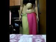 Desi girl steeping clothes