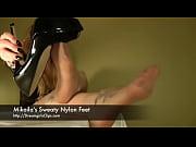 mikaila'_s sweaty nylon feet - www.clips4sale.com/8983/15623122