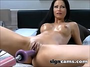 awesome brunette gets her pussy fucked.