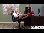 (gigi allens) Big Tits Office Slut Girl Get Hard Style Nailed video-18