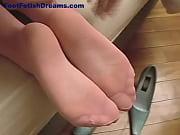 Cum on stocking soles