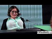 office girl (krissy lynn) with big melon tits.