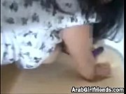 cute arab girlfriend loves hard pounding