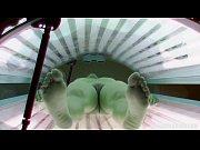 thumb teen girl spied in solarium
