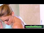 Abigail Mac &amp_ Ryan Ryans sensual touching in shower