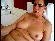 granny'_s huge vibrator masturbating