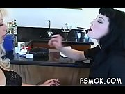 Horny doxy shows cunt and relaxes herself with a cigarette