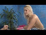 sultry blondie enjoys hard 10-pounder