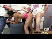 Busty black babe bubble bath group cocksuck! 16