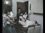 Alejandra Becerril, actriz de fotonovelas mejor conocida como Alexis es atacada en su casa en esta escena de la pel&iacute_cula &quot_La banda de los Panchitos&quot_.