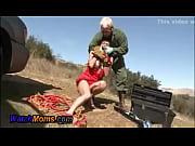 Hot Horny Brunette Gives Mechanic A Blowjob - XNXX.COM