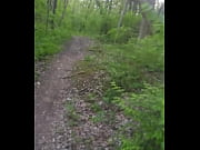 risky walk on bike path