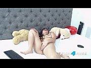 Michele Madison Flirt4Free - Chubby Latina Babe Fingers Her Hole Hard