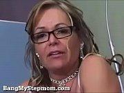MILF Stepmom fucks her horny son