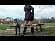 blonde amateur babe sophies outdoor striptease and public.